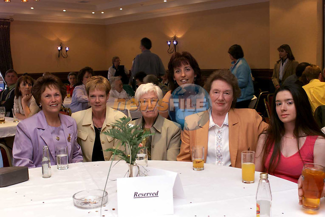 Doris Maher, Mary Finglas, Meave McCoy, Linda Collins, Lilly Weston and Sabrina Finnegan..Picture Fran Caffrey Newsfile