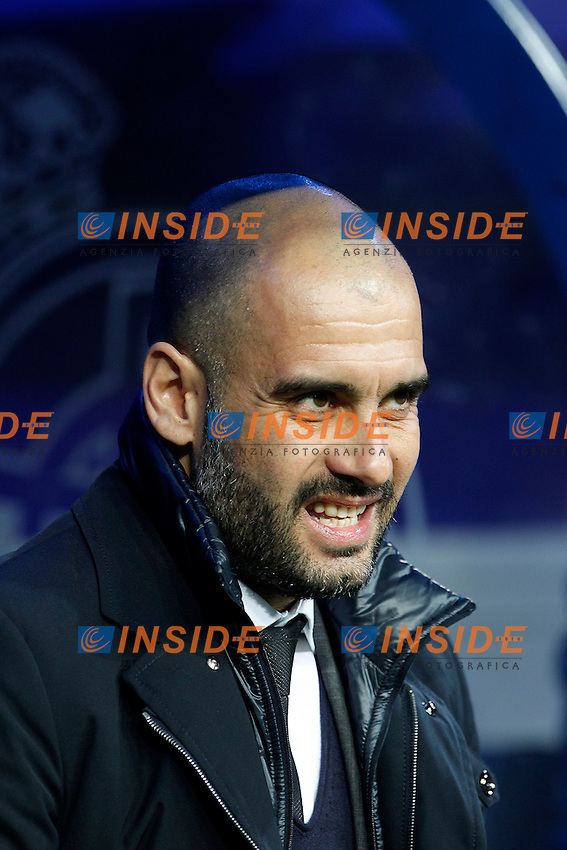 FC Barcelona's coach Pep Guardiola during Spanish King's Cup match.January 18,2011. (Insidefoto / Acero / Alterphotos) .Real Madrid Vs Barcellona.ITALY ONLY