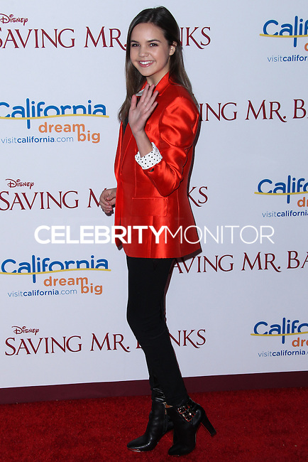 """BURBANK, CA - DECEMBER 09: Bailee Madison arriving at the U.S. Premiere Of Disney's """"Saving Mr. Banks"""" held at Walt Disney Studios on December 9, 2013 in Burbank, California. (Photo by Xavier Collin/Celebrity Monitor)"""