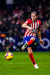 Filipe Luis of Atletico de Madrid in action during the La Liga 2018-19 match between Atletico Madrid and FC Barcelona at Wanda Metropolitano on November 24 2018 in Madrid, Spain. Photo by Diego Souto / Power Sport Images