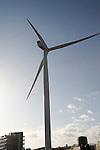 Large wind turbine called Gulliver, Lowestoft, Suffolk, England