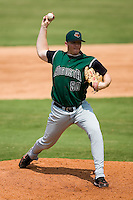 Augusta relief pitcher Adam Paul (50) in action versus Kannapolis at Fieldcrest Cannon Stadium in Kannapolis, NC, Monday, September 3, 2007.