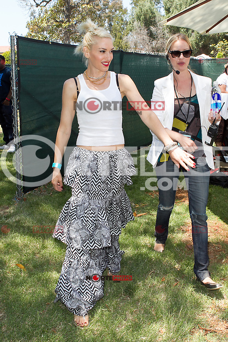 "Gwen Stefani at the 23rd Annual ""A Time for Heroes"" Celebrity Picnic Benefitting the Elizabeth Glaser Pediatric AIDS Foundation. Los Angeles, California. June 3, 2012. © mpi22/MediaPunch Inc."