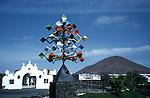 Manrique Lanzarote sculpture canary islands spain