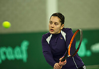 Rotterdam, The Netherlands, March 18, 2016,  TV Victoria, NOJK 14/18 years, Anastasiya Mulder (NED)<br /> Photo: Tennisimages/Henk Koster