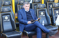 Blackburn Rovers manager Tony Mowbray<br /> <br /> Photographer Rachel Holborn/CameraSport<br /> <br /> The EFL Sky Bet Championship - Wolverhampton Wanderers v Blackburn Rovers - Saturday 22nd April 2017 - Molineux - Wolverhampton<br /> <br /> World Copyright &copy; 2017 CameraSport. All rights reserved. 43 Linden Ave. Countesthorpe. Leicester. England. LE8 5PG - Tel: +44 (0) 116 277 4147 - admin@camerasport.com - www.camerasport.com