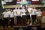BIRMINGHAM, AL - MARCH 11: Drury University placed second during the Division II Men's and Women's Swimming & Diving Championship held at the Birmingham CrossPlex on March 11, 2017 in Birmingham, Alabama. (Photo by Matt Marriott/NCAA Photos via Getty Images)