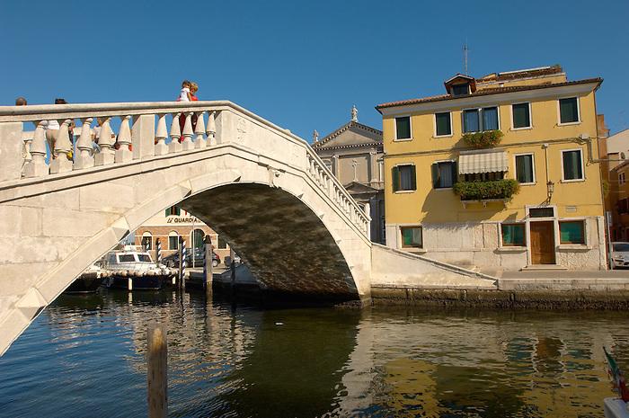 Ponte Dal Vigo - Riva Vena - Chioggia, Venice Italy