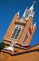 San Felipe de Neri Church is a historic Catholic church located on the north side of Old Town Plaza in Albuquerque, New Mexico. Built in 1793.