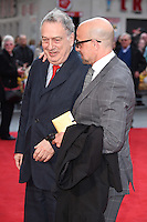 Stephen Frears and Stanley Tucci<br /> arrives for the &quot;Florence Foster Jenkins&quot; European premiere at the Odeon Leicester Square, London<br /> <br /> <br /> &copy;Ash Knotek  D3106 12/04/2016