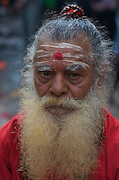 sadhu at the Dahsa Kali Animal Sacrifice Temple