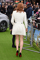 "Daisy Ridley<br /> arriving for ""Peter Rabbit"" premiere at the Vue West End, Leicester Square, London<br /> <br /> ©Ash Knotek  D3387  11/03/2018"