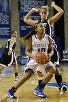 Junior guard Benisha Pinkett attacks the basket for a layup at the Women's Basketball game at Memorial Coliseum in Lexington, Ky., on Saturday, November. 17, 2012..