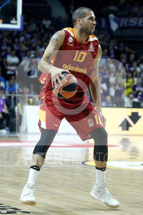 Galatasaray Odeabank Istambul's Blake Schilb during Euroleague, Regular Season, Round 5 match. November 3, 2016. (ALTERPHOTOS/Acero)