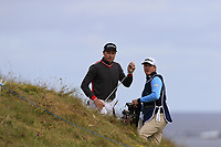 Brett Rumford (AUS) in the rough at the 13th green during Thursday's Round 1 of the 2018 Dubai Duty Free Irish Open, held at Ballyliffin Golf Club, Ireland. 5th July 2018.<br /> Picture: Eoin Clarke | Golffile<br /> <br /> <br /> All photos usage must carry mandatory copyright credit (&copy; Golffile | Eoin Clarke)