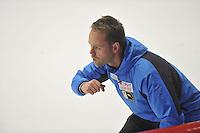SPEED SKATING: INZELL: 06-12-2015, Max Aicher Arena, ISU World Cup, Johan de Wit (trainer/coach JPN), ©foto Martin de Jong