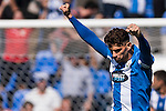 Carl Medjani of Deportivo Leganes reacts during their La Liga match between Deportivo Leganes and Sevilla FC at the Butarque Municipal Stadium on 15 October 2016 in Madrid, Spain. Photo by Diego Gonzalez Souto / Power Sport Images