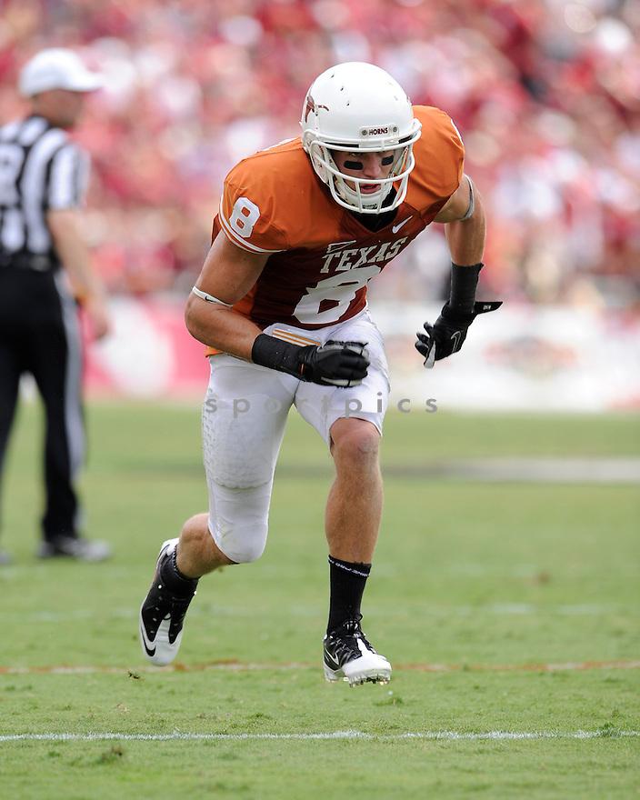 Jaxon Shipley(8) / Texas Longhorns
