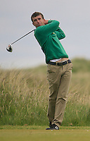 Sean Flanagan (Co. Sligo)<br /> during R1 of the East of Ireland Amateur Open championship 2013 at Co Louth Golf club, 1/6/13<br /> Picture:  Thos Caffrey / www.golffile.ie