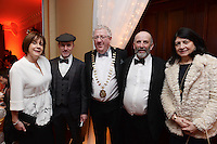 Pictured at the Kerry Branch of IHF Ball in the Muckross Park Hotel at the weekend were Joe and Rosie Dolan, The Bush Hotel, Carrick-on-Shannon and President of the IHF with Michael, Danny and Eileen Healy-Rae.<br /> Photo: Don MacMonagle<br /> <br /> Repro free photo