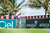 Gonzalo Fedz-Castano (ESP) during the 3rd round of the AfrAsia Bank Mauritius Open, Four Seasons Golf Club Mauritius at Anahita, Beau Champ, Mauritius. 01/12/2018<br /> Picture: Golffile | Mark Sampson<br /> <br /> <br /> All photo usage must carry mandatory copyright credit (© Golffile | Mark Sampson)