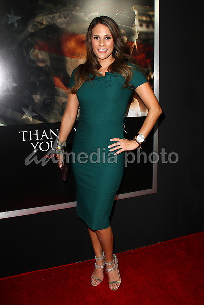 "23 October 2017 - Los Angeles, California - Bonnie-Jill Laflin. ""Thank You For Your Service"" Premiere held at the Regal L.A. Live Theatre in Los Angeles. Photo Credit: AdMedia"