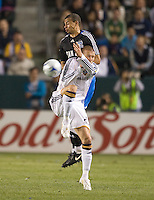 Jason Hernandez and David Beckham,.San Jose Earthquakes vs Los Angeles Galaxy, April 4, 2008, in Carson California. The Galaxy won 2-0.