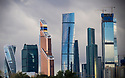 27/09/18 - MOSCOU - RUSSIE - Illustration, quartier des affaires de Moscou - Photo Jerome CHABANNE
