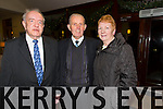 Joe Foley, Matt Scanlon, Peggy Scanlon  at the St. Pats Blennerville Strictly come Dancing fundraiser at Ballyroe Heights Hotel on Friday