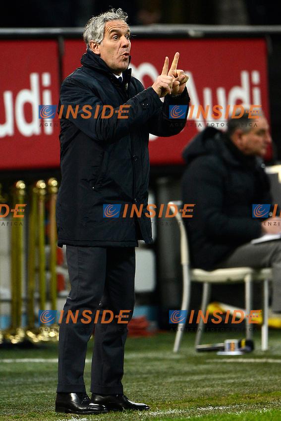 Roberto Donadoni Parma<br /> Milano 01-02-2015 Stadio Giuseppe Meazza - Football Calcio Serie A Milan - Parma. Foto Giuseppe Celeste / Insidefoto