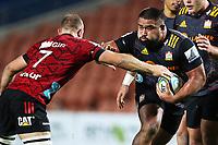 1st August 2020, Hamilton, New Zealand;  Chiefs prop Nepo Laulala. Chiefs versus Crusaders, Super Rugby Aotearoa. FMG Stadium Waikato, Hamilton, New Zealand.