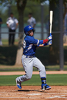 Los Angeles Dodgers Federico Giordani (59) during an instructional league game against the Milwaukee Brewers on October 13, 2015 at Cameblack Ranch in Glendale, Arizona.  (Mike Janes/Four Seam Images)