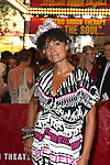 Amel Larrieux.attending the opening night of the Broadway limited engagement of 'Fela!' at the Al Hirschfeld Theatre on July 12, 2012 in New York City.