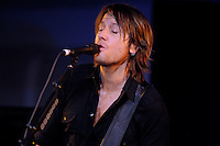 Toronto (ON), December 11, 2007 - Keith Urban performs at the grand opening of Future Shop store in Toronto's Yonge and Dundas area.