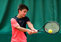 Wateringen, The Netherlands, March 16, 2018,  De Rhijenhof , NOJK 14/18 years, Nat. Junior Tennis Champ. Steffan van Weldam (NED)<br /> Photo: www.tennisimages.com/Henk Koster