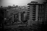 La croissance urbaine de la ville nouvelle de Mardin.