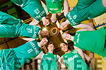 Rapolas Buivydas, Siofra O'Shea, Leeroy Odiahi, Paris McCarthy, Dáire Kennelly, Sean and Tim Pollmann-Daamen and Tania Salvado, Kerry members of the Irish Basketball teams, pictured at Tralee Sports Complex on Friday evening last.