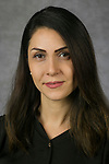 Mona Rahimi, Professional Lecturer, College of Computing and Digital Media, DePaul University, is pictured in a studio portrait Sept. 21, 2017. (DePaul University/Jeff Carrion)