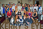 Surprise - Noel O'Sullivan from Strand Road, seated centre having a ball with family and friends at his surprise 50th birthday party held in Kerins O'Rahillys GAA Club on Saturday night.