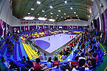 General view, <br /> AUGUST 17, 2018 - Handball : Men's Preliminary Round match between <br /> Korea 26-26 Japan at GOR Popki Cibubur during the 2018 Jakarta Palembang Asian Games in Jakarta, Indonesia. <br /> (Photo by MATSUO.K/AFLO SPORT)