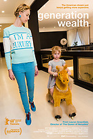 Generation Wealth (2018) <br /> POSTER ART<br /> *Filmstill - Editorial Use Only*<br /> CAP/KFS<br /> Image supplied by Capital Pictures
