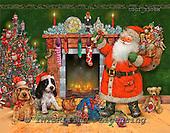 GIORDANO, CHRISTMAS SANTA, SNOWMAN, WEIHNACHTSMÄNNER, SCHNEEMÄNNER, PAPÁ NOEL, MUÑECOS DE NIEVE, paintings+++++,USGI2308M,#X#