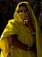 The Garasia tribals have exquisite textile and jewelry traditions and unique models of living. This tribe is found in Rajasthan, India