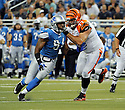 ANDREW WHITWORTH, of the Cincinnati Bengals in action during the Bengals game against the Detroit Lion on August 12, 2011 at Ford Field in Detroit, Michigan. The Lions beat the Bengals 34-3.