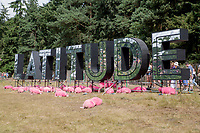 21st July 2019: General view of the 2019 Latitude Festival 2019 at Henham PArk, Suffolk.
