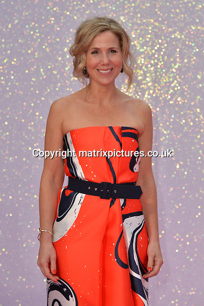 NON EXCLUSIVE PICTURE: MATRIXPICTURES.CO.UK<br /> PLEASE CREDIT ALL USES<br /> <br /> WORLD RIGHTS<br /> <br /> English &quot;Veep&quot; actress Sally Phillips attends the world premiere of &quot;Bridget Jones's Baby&quot; in which she also stars at Leicester Square in London.<br /> <br /> SEPTEMBER 5th 2016<br /> <br /> REF: JWN 162864