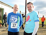 Tom Murphy and David Austin at the Wild Goose Lodge run at Westerns GAA Club Reaghstown. Photo:Colin Bell/pressphotos.ie