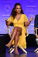 "HOLLYWOOD, CA - MARCH 23: Janet Mock at PaleyFest 2019 for FX's ""Pose"" panel at the Dolby Theatre on March 23, 2019 in Hollywood, California. (Photo by Vince Bucci/FX/PictureGroup)"