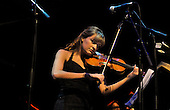 Celtic Connections Opening Concert- Glasgow Royal Concert Hall - classic violinist Nicola Benedetti on stage - picture by Donald MacLeod - 16.01.14 – 07702 319 738 – clanmacleod@btinternet.com – www.donald-macleod.com