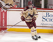 Colin White (BC - 18) - The Boston College Eagles defeated the University of Notre Dame Fighting Irish 6-4 (EN) on Saturday, January 28, 2017, at Kelley Rink in Conte Forum in Chestnut Hill, Massachusetts.The Boston College Eagles defeated the University of Notre Dame Fighting Irish 6-4 (EN) on Saturday, January 28, 2017, at Kelley Rink in Conte Forum in Chestnut Hill, Massachusetts.